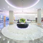 Колонны для холла гостиниц из литьевого камня
