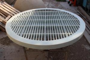 Химо-стойкая решетка из стеклопластика